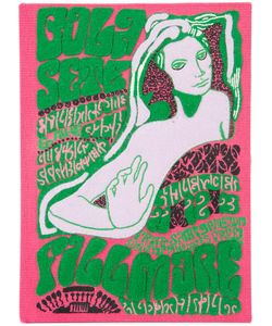 Olympia Le-Tan   Book Cover Clutch Womens Wool Felt/Brass