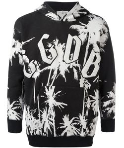 Golden Goose Deluxe Brand | Palm Tree Print Hoodie Mens Size Medium