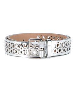 Alaïa | Perforated Waist Belt Womens Size 70 Leather