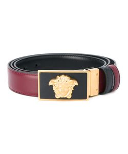 Versace | Reversible Medusa Belt Mens Size 115 Calf Leather