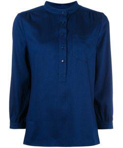 A.P.C. | V-Neck Blouse Womens Size 38 Viscose/Tencel