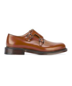 Church's | Classic Monk Shoes Mens Size 5 Calf Leather/Leather