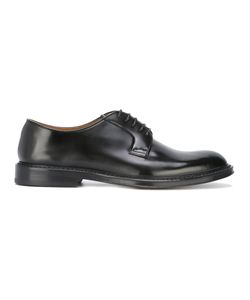 Doucal's   Classic Almond-Toe Oxfords Mens Size 41 Leather
