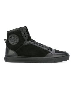 Versace | Medusa Hi-Top Sneakers Mens Size 45 Calf Leather/Leather/Rubber