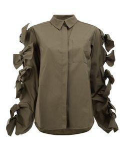 Maison Rabih Kayrouz   Tied Sleeves Shirt Size 36 Cotton