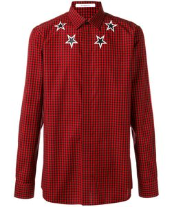 Givenchy | Checked Star Shirt Mens Size 43 Cotton