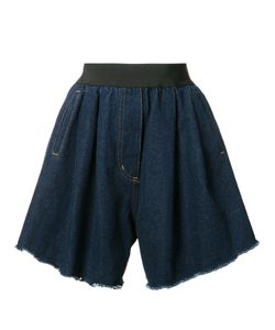 Natasha Zinko   Wide Denim Shorts Size 38 Cotton/Polyester/Polyamide
