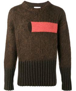 Helen Lawrence | Chunky Ribbed Jumper Mens Size Xl Lambs Wool/Mohair/Wool/Spandex/Elastane