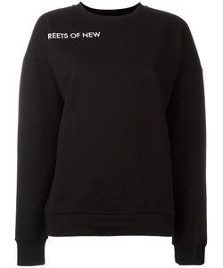 Each X Other | Sleeve Lettering Sweatshirt Size Medium Cotton