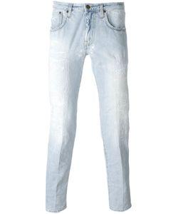 +People | Distressed Slim Fit Jeans