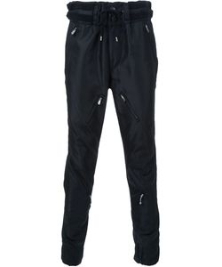 The Soloist | Zip Panel Detail Tapered Trousers