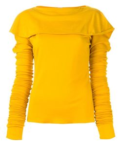 And Re Walker | Ruffled Boat Collar Sweater