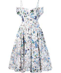 Jonathan Cohen | Floral Print Flared Dress