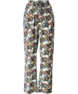 Jean-Paul Lespagnard | Floral Graphic Print Trousers