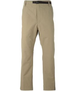 Haus | Buckled Strap Chino Trousers