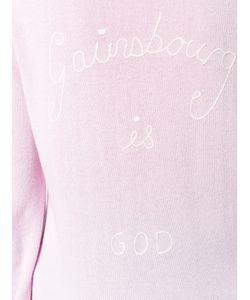 Bella Freud   Je Taime Jane Jumper Womens Size Xs Cashmere