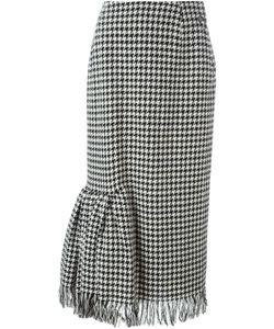 Yohji Yamamoto Vintage | Houndstooth Skirt
