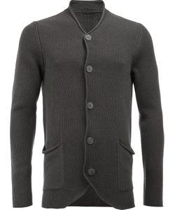 Label Under Construction | Patch Pockets Cardigan Mens Size 48 Silk