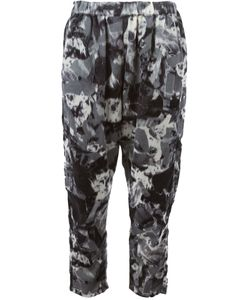 Zucca | Cropped Printed Trousers