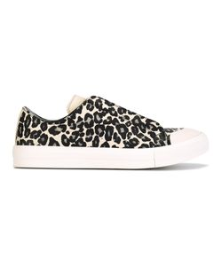 Alexander McQueen | Animal Print Low Sneakers Mens Size 39 Leather/Rubber