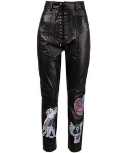Claire Barrow   Lace-Up Appliqué Trousers
