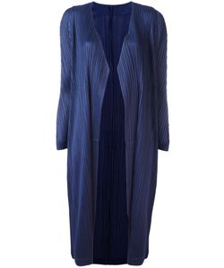 Pleats Please By Issey Miyake | Open Pleated Midi Coat Womens Size