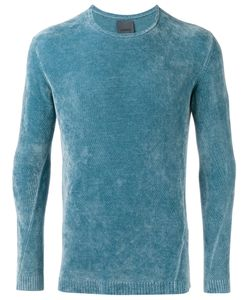Laneus | Ribbed Sweatshirt Mens Size 46 Viscose/Nylon