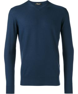 Loro Piana | V Neck Sweatshirt Mens Size 52 Cashmere