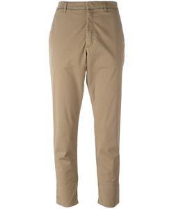 Hope   Folded Hem Cropped Trousers Womens Size 38 Cotton/Spandex/Elastane