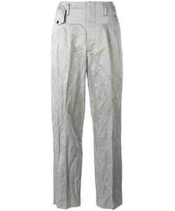 Golden Goose Deluxe Brand | Crinkle Effect Trousers Womens Size Small