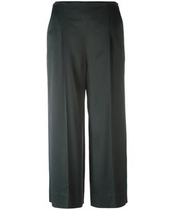 Chalayan | Cropped Wide-Legged Trousers Womens Size 40 Spandex/Elastane/Acetate/Viscose