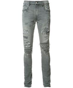 Amiri | Shded Detail Jeans Mens Size 30 Acetate/Cotton/Spandex/Elastane