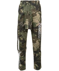 Haculla | Camouflage Print Trousers Mens Size 36 Cotton