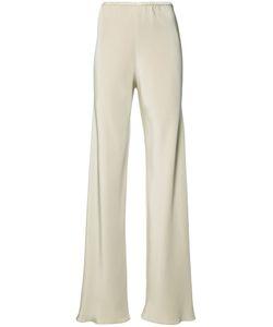 Peter Cohen | Elasticated Waistband Trousers Womens Size Medium Silk