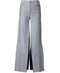 Maria Ke Fisherman   Wide Leg Split Pants