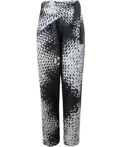 Uma | Abstract Print Straight Leg Trousers
