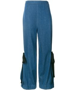 Creatures Of The Wind | Denim Wide-Leg Trousers Womens Size 6