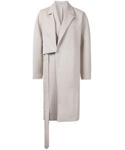 Wooyoungmi | Shoulder Panel Coat Mens Size 46 Cotton/Wool