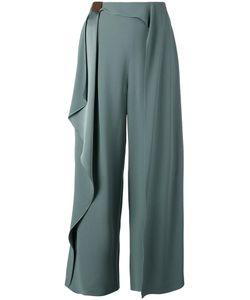 Chalayan | Scarf Trousers Womens Size 44 Viscose/Acrylic