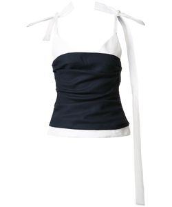 Jacquemus   Knot Long Straps Blouse Womens Size 36 Virgin Wool/Cotton