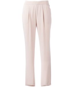Akris | Straight Trousers Womens Size 38 Lyocell/Viscose