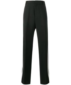 Givenchy | Stripe Wide-Leg Tuxedo Trousers Mens Size 46 Wool/Mohair/Acetate/Polyester