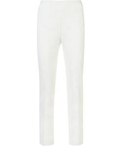Akris | Slim-Fit Trousers Womens Size 4 Cotton/Silk/Spandex/Elastane/Polyimide