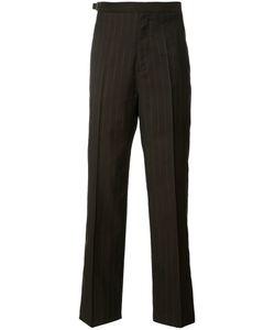 Maison Margiela | Pinstripe Tailo Trousers Mens Size 50 Wool