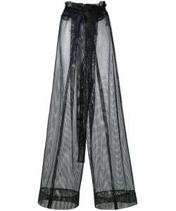 Demoo Parkchoonmoo | Mesh Fla Trousers Womens Size 36 Polyester