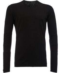 Label Under Construction | Slim-Fit Sweater Mens Size 52 Cotton/Linen/Flax