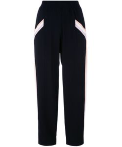 Agnona | Relaxed Cropped Trousers Womens Size 40 Silk/Viscose/Spandex/Elastane/Silk