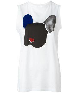 Être Cécile | Dog Print Tank Womens Size Small Cotton