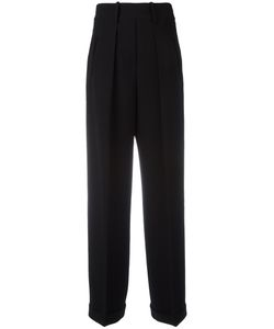 Neil Barrett | Fla Tailo Trousers Womens Size 44 Polyester/Cupro/Triacetate