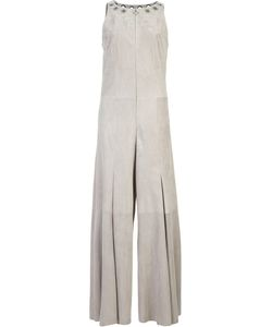 Drome | Wide Leg Jumpsuit Womens Size Small Suede